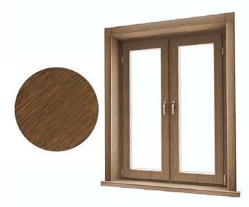 Стартовый профиль дверной QUNELL (St-25 мм, орех) [РАСПИЛ В РАЗМЕР] Изображение 2