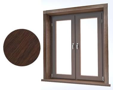 Стартовый профиль дверной QUNELL (St-25 мм, темный дуб) [РАСПИЛ В РАЗМЕР] Изображение 2