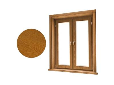 Стартовый профиль дверной QUNELL (St-25 мм, золотой дуб) [РАСПИЛ В РАЗМЕР] Изображение 2