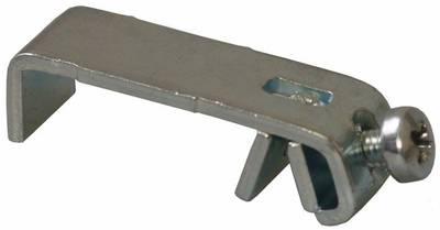 Стяжка угловая для наличников, сталь, оцинкованный Изображение