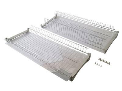 Комплект сушек для посуды FIRMAX база 700, ширина 668мм, с рамой (сушка для тарелок, сушка для чашек, поддон, саморезы) Изображение 3