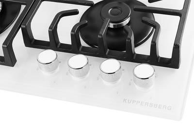 Газовая варочная поверхность Kuppersberg TG 69 W, белый Изображение 3