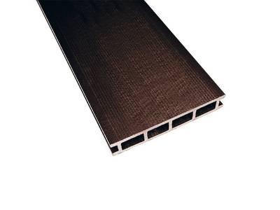 Террасный профиль Комфорт мелкий вельвет венге 25х145х6000 мм (0.87 кв.м.) Изображение