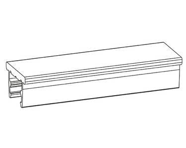 Тяга алюминиевая под паз 16 мм для VARIA Multi 3000 мм Изображение 2