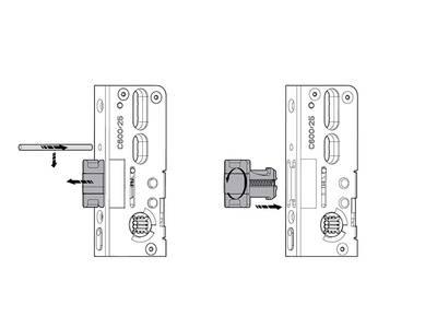 Удлинитель основного запора Roto AO 1180/SL/2V H600 (неудлиняемый, применяется сверху) Изображение 4