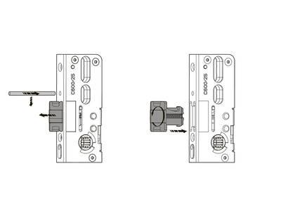 Удлинитель основного запора Roto AO/AU 745/SL/1V H600 (удлиняемый, применяется сверху и снизу) Изображение 4