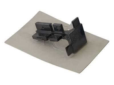 Угол 90° внешний верхнего профиля GOLA Alphalux, алюминий черный Изображение