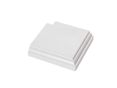 Угловая накладка для дверного наличника Qunell U-81 белая Изображение