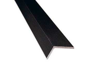 Угловой закрывающий L-профиль Wooddecker венге 40х60х4000 мм Изображение