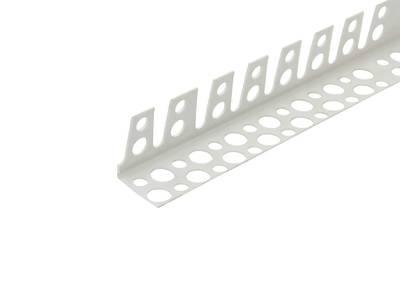 Уголок арочный ПВХ 23х23 мм белый 2,5 м Изображение