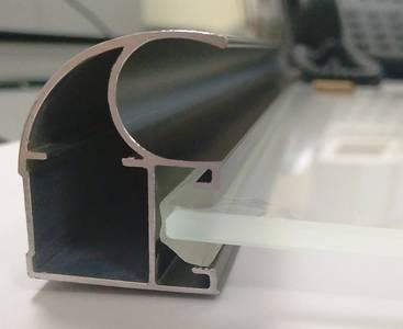FIRMAX Уплотнитель ПВХ под вставку 4мм, бесцветный Изображение 3