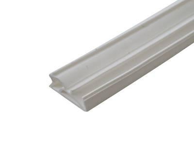 Уплотнитель для деревянных окон DEVENTER 4-5 мм белый, паз 4-5, 20х5 Изображение