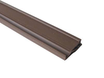 Уплотнитель для деревянных окон DEVENTER 4-5 мм тёмно-коричневый Изображение