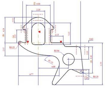 Уплотнитель для профиля KBE 255 (стеклопакет), EPDM, чёрный Изображение
