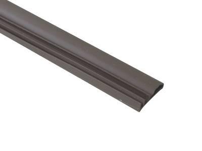 Уплотнитель контурный для межкомнатных дверей DEVENTER, ПВХ, темно-коричневый Изображение 2