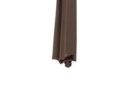 Уплотнитель контурный для межкомнатных дверей DEVENTER, ТЭП, темно-коричневый Изображение 2