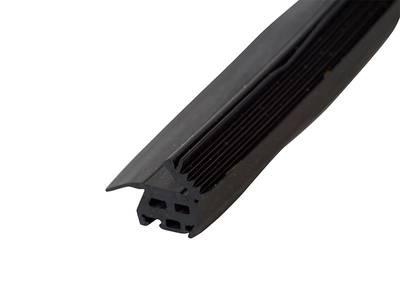 Уплотнитель стойки, внутренний, 12мм, Нар. угол 10-45гр. 50м. ЭПДМ Изображение