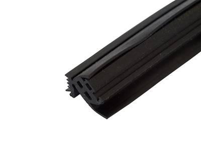 Уплотнитель стойки, внутренний, 12мм, Нар. угол 10-45гр. 50м. ЭПДМ Изображение 3