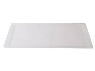 Поддон для сушки VIBO Variant (520x240x15 мм, пластик, транспарент) [VP600] Изображение 2