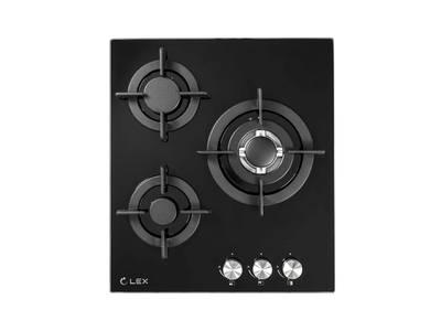 Варочная панель газовая GVG 430 BL, ширина 450 мм, черный Изображение