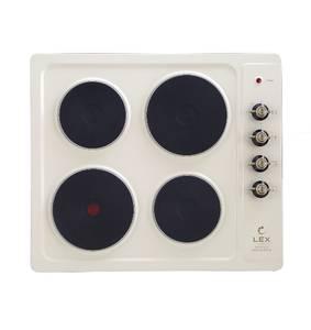 Варочная поверхность электрическая EVE 640 C IV Light, белый антик Изображение