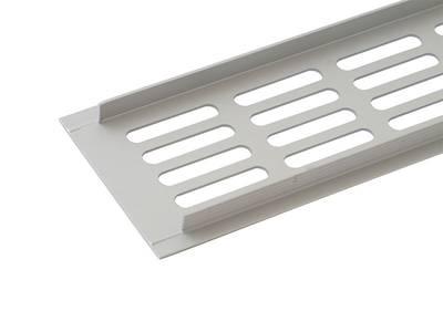 Вентиляционная решетка Werzalit серебристая Изображение 3