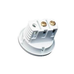 Выключатель врезной кнопочный, серый, D-27мм, 5А Изображение 3