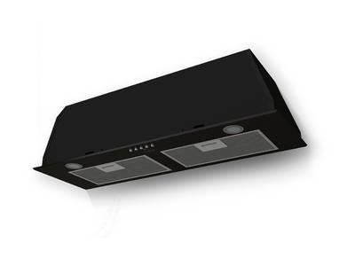 Вытяжка встраиваемая GS BLOC P 900 BLACK, ширина 725 мм, черный Изображение
