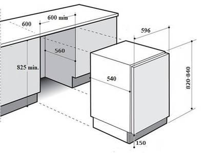 Встраиваемая стиральная машина Kuppersberg WM 1477 Изображение 4
