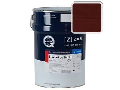 Лак фасадный ZOBEL Deco-tec 5400/5420, Rot 3.11 шелковисто-матовый, 1л Изображение