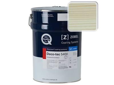"""Лак фасадный ZOBEL Deco-tec 5400/5420 """"Белый TD""""шелковисто-матовый, 1л Изображение"""