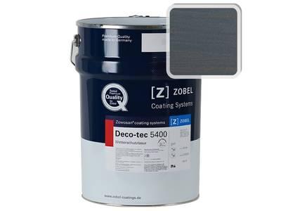 Лак фасадный ZOBEL Deco-tec 5400/5420 Blau 5.00 шелковисто-матовый, 1л Изображение