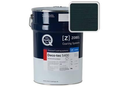 Лак фасадный ZOBEL Deco-tec 5400/5420, Blau 5.20 шелковисто-матовый, 1л Изображение