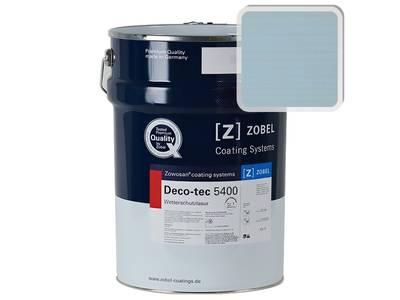 Лак фасадный ZOBEL Deco-tec 5400/5420, Blau 5.24 шелковисто-матовый, 1л Изображение