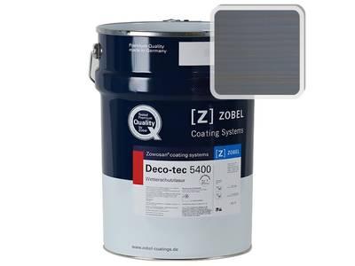 Лак фасадный ZOBEL Deco-tec 5400/5420, Blau 5.40 шелковисто-матовый, 1л Изображение