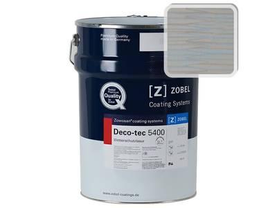 Лак фасадный ZOBEL Deco-tec 5400/5420, Blau 5.41 шелковисто-матовый, 1л Изображение