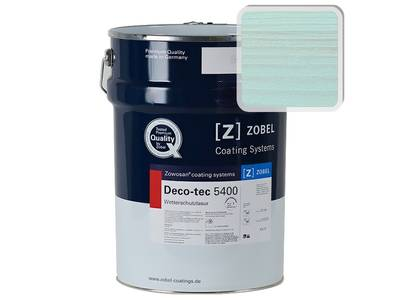 Фасадный атмосферо-устойчивый лак ZOBEL Deco-tec 5400 (Blau 5.42) Изображение