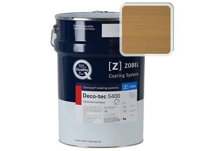 Лак фасадный ZOBEL Deco-tec 5400/5420, Broun 8.00 шелковисто-матовый, 1л Изображение