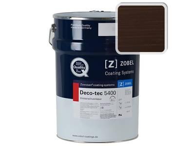 Лак фасадный ZOBEL Deco-tec 5400/5420, Choko шелковисто-матовый, 1л Изображение
