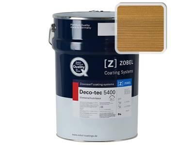 Лак фасадный ZOBEL Deco-tec 5400/5420, Eiche-hell006 шелковисто-матовый, 1л Изображение