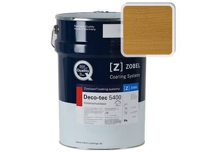 Лак фасадный ZOBEL Deco-tec 5400/5420, Eiche 003 шелковисто-матовый, 1л Изображение