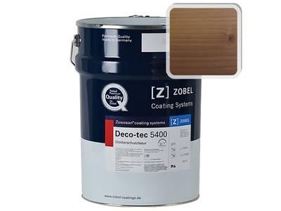 """Лак фасадный ZOBEL Deco-tec 5400/5420, """"Гранат"""" шелковисто-матовый, 1л Изображение"""