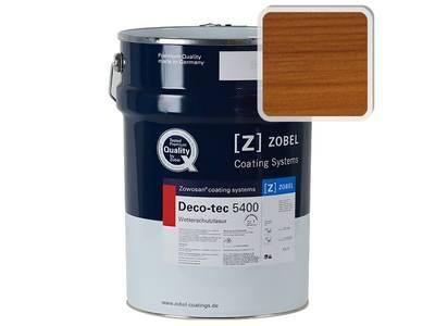 """Лак фасадный ZOBEL Deco-tec 5400/5420, """"Каштан"""" шелковисто-матовый, 1л Изображение"""