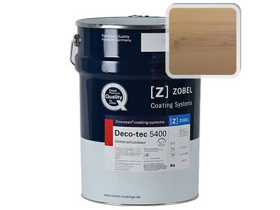 """Лак фасадный ZOBEL Deco-tec 5400/5420, """"Лиственница"""" шелковисто-матовый, 1л Изображение"""