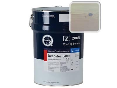 """Лак фасадный ZOBEL Deco-tec 5400/5420, """"Топленое молоко"""" шелковисто-матовый, 1л Изображение"""