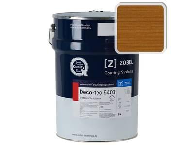 """Лак фасадный ZOBEL Deco-tec 5400/5420, """"Золотистый тик"""" шелковисто-матовый, 1л Изображение"""