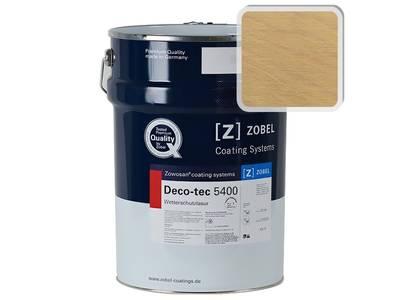 Лак фасадный ZOBEL Deco-tec 5400/5420, Gelb 1.40 шелковисто-матовый,  1л Изображение