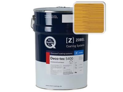 Лак фасадный ZOBEL Deco-tec 5400/5420, Gelb 1.42 шелковисто-матовый, 1л Изображение