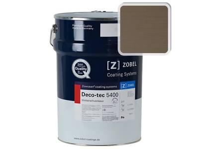 Лак фасадный ZOBEL Deco-tec 5400/5420, Grau 7.05 шелковисто-матовый, 1л Изображение