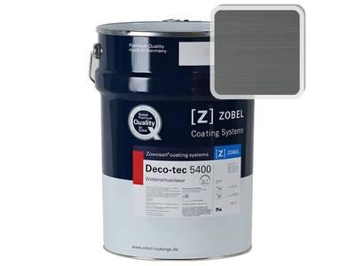 Лак фасадный ZOBEL Deco-tec 5400/5420, Grau 7.12 шелковисто-матовый, 1л Изображение